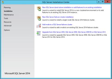 SQL Failover Cluster Installation