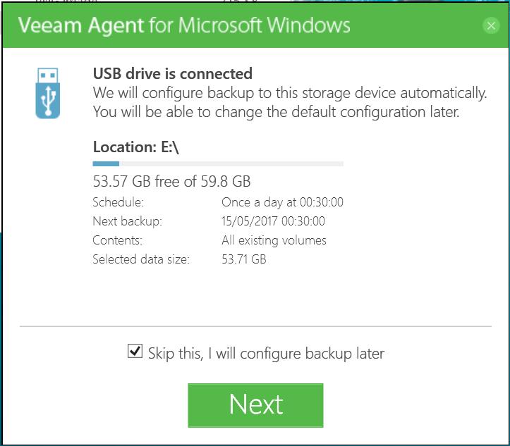 Veeam Agent for Windows 07