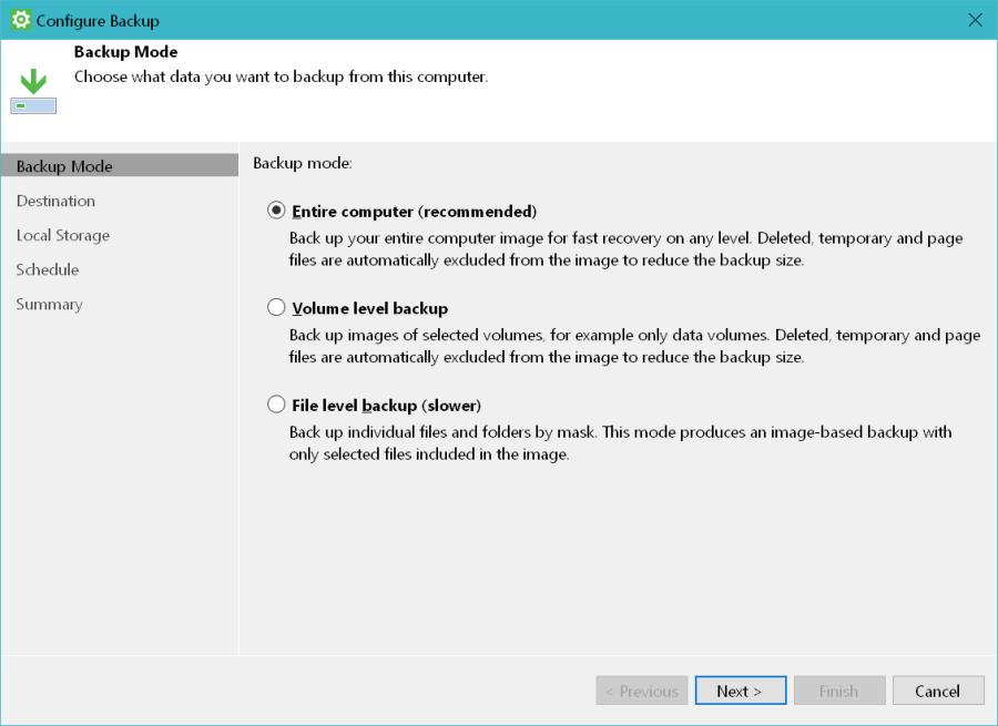 Veeam Agent for Windows Backup 01