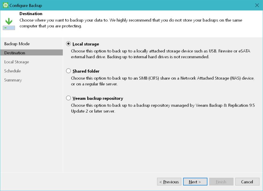 Veeam Agent for Windows Backup 02