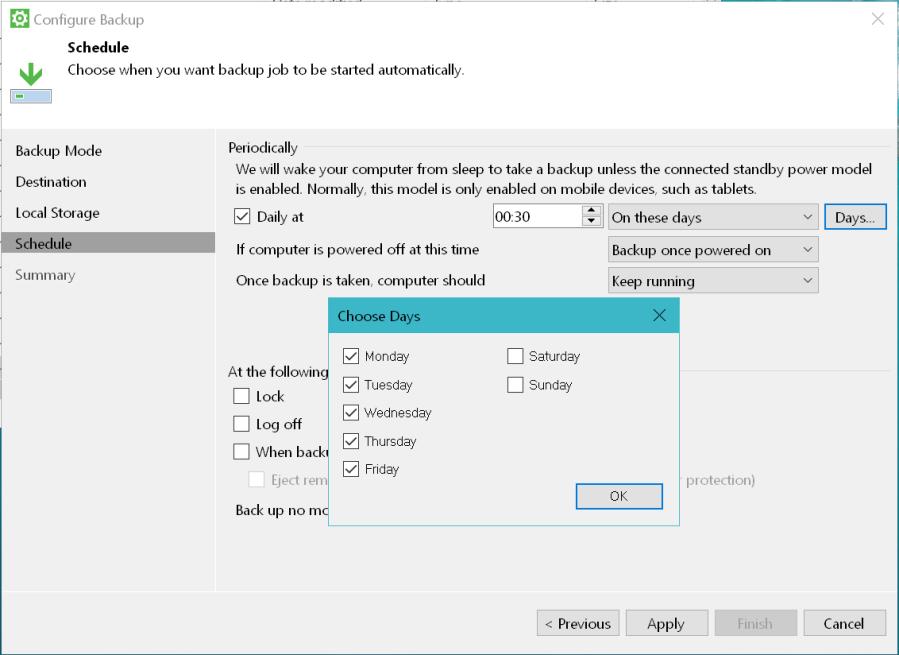 Veeam Agent for Windows Backup 06