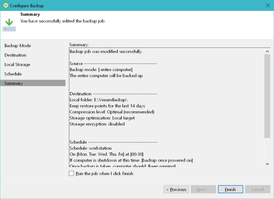Veeam Agent for Windows Backup 08