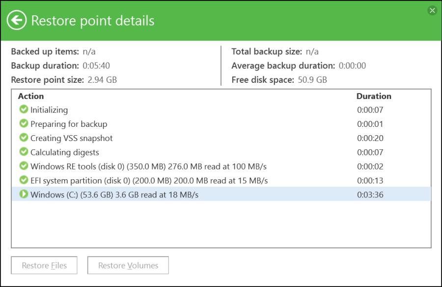 Veeam Agent for Windows Backup 10
