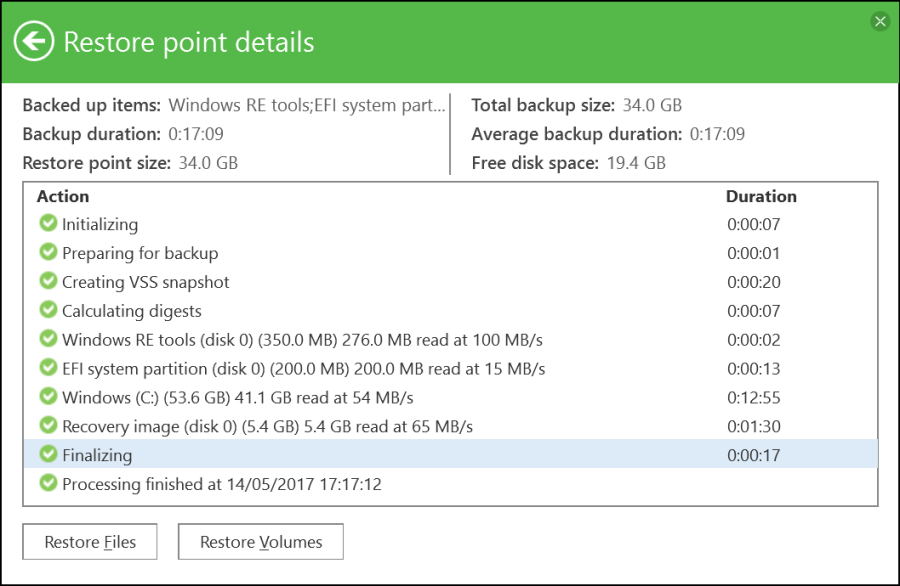 Veeam Agent for Windows Backup 11